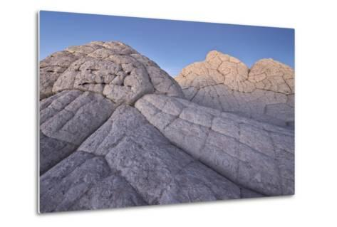 Brain Rock at Dusk, White Pocket, Vermilion Cliffs National Monument-James Hager-Metal Print
