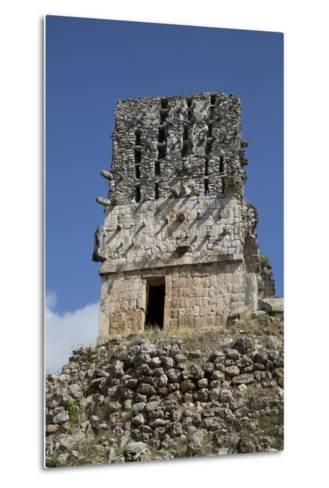 El Mirador, Labna, Mayan Ruins, Yucatan, Mexico, North America-Richard Maschmeyer-Metal Print