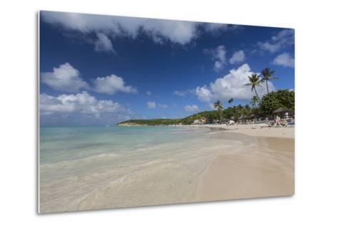 Dickinson Bay Overlooking the Caribbean Sea, Antigua, Leeward Islands, West Indies-Roberto Moiola-Metal Print