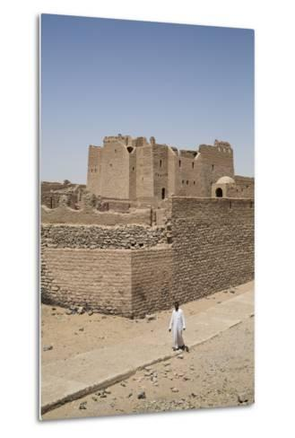 Monastery of St. Simeon, Founded in the 7th Century, Aswan, Egypt, North Africa, Africa-Richard Maschmeyer-Metal Print