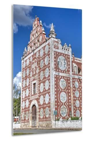 Santo Domingo De Guzman Church and Convent, Built in 1646, Uayma, Yucatan, Mexico, North America-Richard Maschmeyer-Metal Print