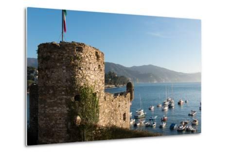 The 16th Century Castle, Santa Margherita Ligure, Genova (Genoa), Liguria, Italy, Europe-Carlo Morucchio-Metal Print