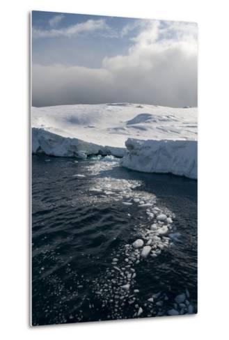 Icebergs in Ilulissat Icefjord, Greenland, Denmark, Polar Regions-Sergio Pitamitz-Metal Print