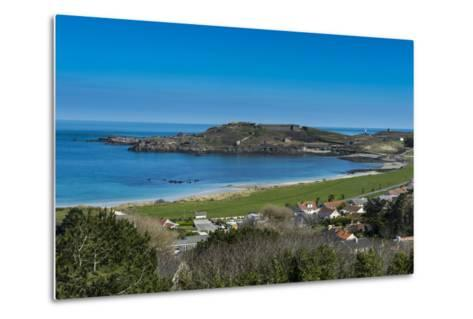 View over Alderney, Channel Islands, United Kingdom-Michael Runkel-Metal Print