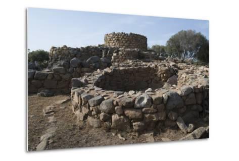 Nuraghe La Prisgiona Archaeological Site, Dating from 1300 Bc, Near Arzachena, Sardinia, Italy-Ethel Davies-Metal Print