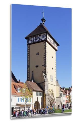 Tuebinger Tor Gate, Reutlingen, Baden Wurttemberg, Germany, Europe-Markus Lange-Metal Print