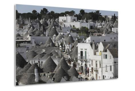 Cone-Roofed Trulli Houses on the Rione Monte District, Alberobello, Apulia, Italy-Stuart Forster-Metal Print