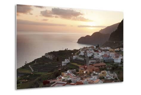 Agulo, La Gomera, Canary Islands, Spain, Atlantic, Europe-Markus Lange-Metal Print