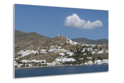 Gialos and Chora, Ios, Cyclades, Greek Islands, Greece-Rolf Richardson-Metal Print