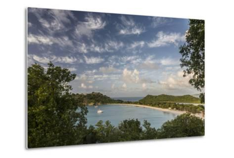 The Clouds are Illuminated by the Setting Sun on Deep Bay-Roberto Moiola-Metal Print