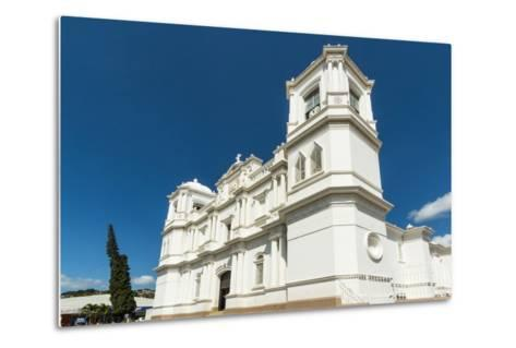 San Pedro Cathedral Built in 1874 on Parque Morazan in This Important Northern Commercial City-Rob Francis-Metal Print