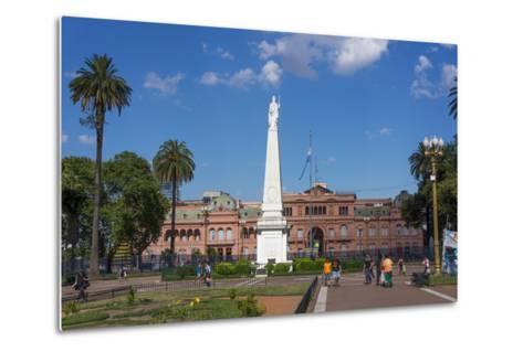 Centre of Buenos Aires, Argentina-Peter Groenendijk-Metal Print