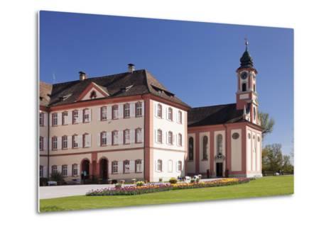 Deutschordensschloss Castle and Church-Markus Lange-Metal Print