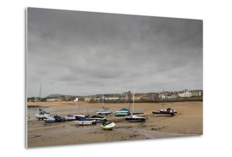 Elie at Low Tide, Fife Coast, Scotland, United Kingdom-Nick Servian-Metal Print