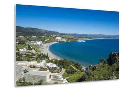 The Bay of Theotokos, Lindos, Rhodes, Dodecanese Islands, Greek Islands, Greece-Michael Runkel-Metal Print