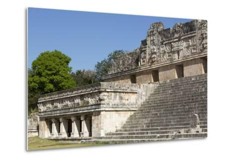 Nuns Quadrangle, Uxmal, Mayan Archaeological Site, Yucatan, Mexico, North America-Richard Maschmeyer-Metal Print