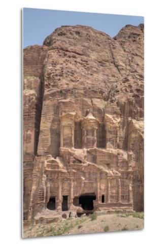 Corinthian Tomb, Royal Tombs, Petra, Jordan, Middle East-Richard Maschmeyer-Metal Print