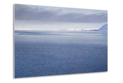 View from Longyearbyen to Adventfjorden Fjord-Stephen Studd-Metal Print
