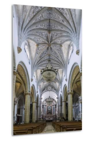 The Manueline and Portuguese Baroque Cathedral Church of Our Lady of the Assumption-Alex Robinson-Metal Print