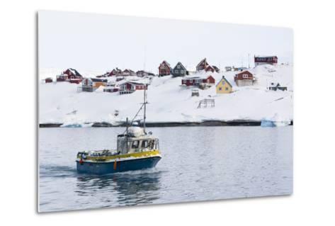 Ilulissat, Greenland,Denmark, Polar Regions-Sergio Pitamitz-Metal Print