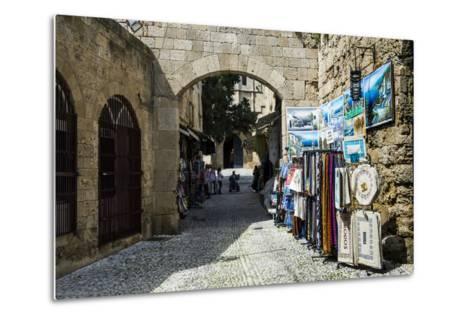The Medieval Old Town. UNESCO World Heritage Site-Michael Runkel-Metal Print