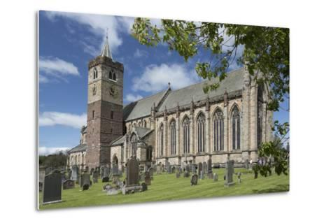 Dunblane Cathedral from the Southeast, Dunblane, Stirling, Cotland, United Kingdom-Nick Servian-Metal Print