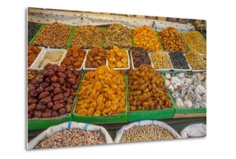 Dried Fruit for Sale in a Baku Bazaar-Will Van Overbeek-Metal Print