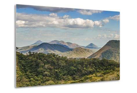The North West Volcanic Chain-Rob Francis-Metal Print