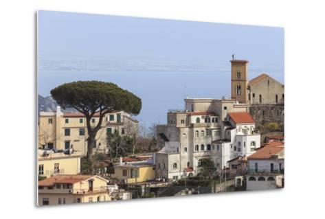 View of Ravello, from Scala, Costiera Amalfitana (Amalfi Coast), Campania, Italy-Eleanor Scriven-Metal Print