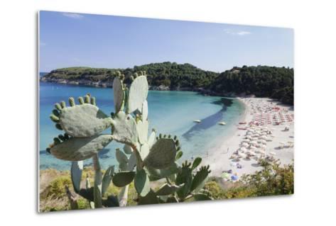 Fetovaia Beach, Island of Elba, Livorno Province, Tuscany, Italy-Markus Lange-Metal Print