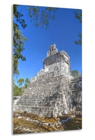 Tabasqueno, Mayan Archaeological Site, Chenes Style, Campeche, Mexico, North America-Richard Maschmeyer-Metal Print