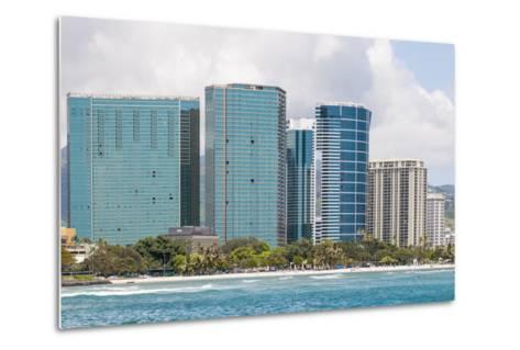 Honolulu, Hawaii, United States of America, Pacific-Michael DeFreitas-Metal Print
