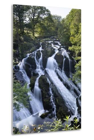 Swallow Falls, Betws-Y-Coed, Snowdonia National Park, Conwy, Wales, United Kingdom, Europe-Stuart Black-Metal Print