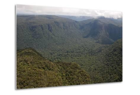 Aerial View of Mountainous Rainforest in Guyana, South America-Mick Baines & Maren Reichelt-Metal Print