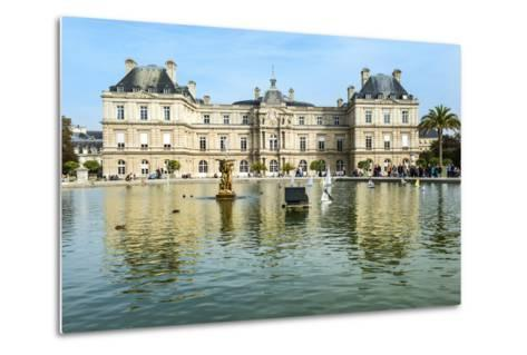 Luxembourg Palace and Gardens, Paris, France, Europe-G & M Therin-Weise-Metal Print