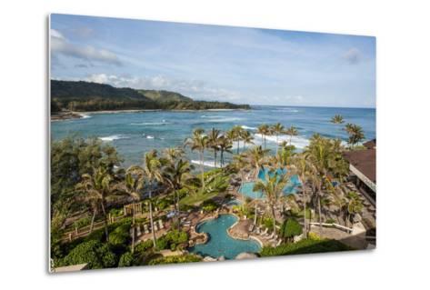 Turtle Bay Resort, North Shore, Oahu, Hawaii, United States of America, Pacific-Michael DeFreitas-Metal Print