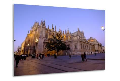 Seville Cathedral, Seville, Andalucia, Spain-Carlo Morucchio-Metal Print