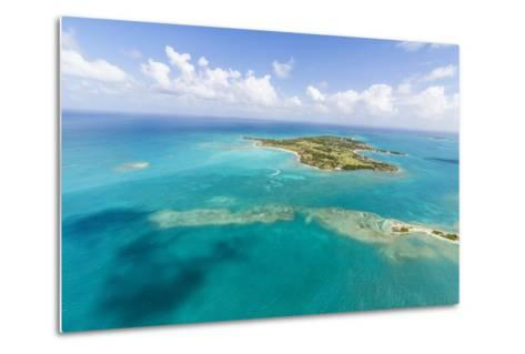 View of Long Island One of the Most Undisturbed in the World, Antigua, Leeward Islands, West Indies-Roberto Moiola-Metal Print