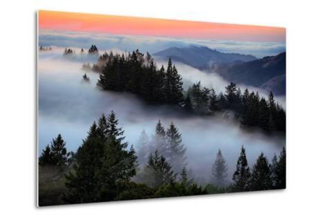 In A Dream of Fog Mount Tamalpais San Francisco-Vincent James-Metal Print