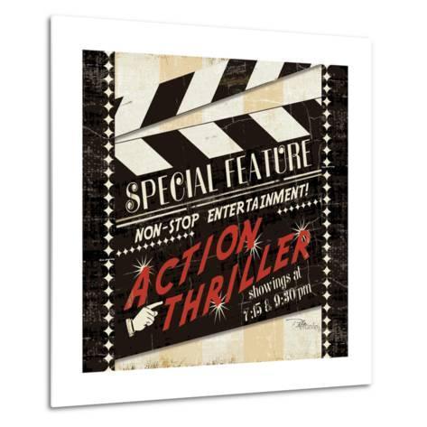 Action Thriller-Jess Aiken-Metal Print