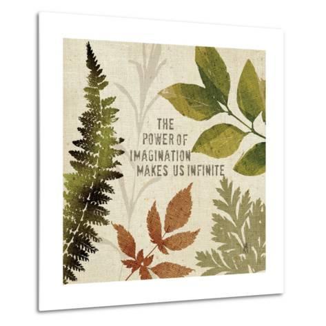 Leaves of Inspiration II-Sarah Mousseau-Metal Print