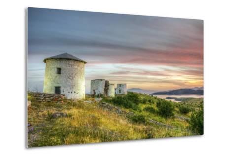 Sunset in Bodrum, Turkey-Nejdet Duzen-Metal Print