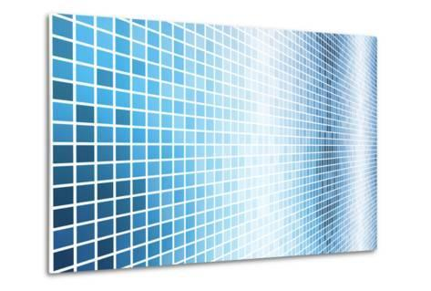 Simple And Clean Background Abstract In Grid-kentoh-Metal Print