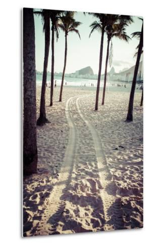 View Of Ipanema Beach In The Evening, Brazil-Mariusz Prusaczyk-Metal Print