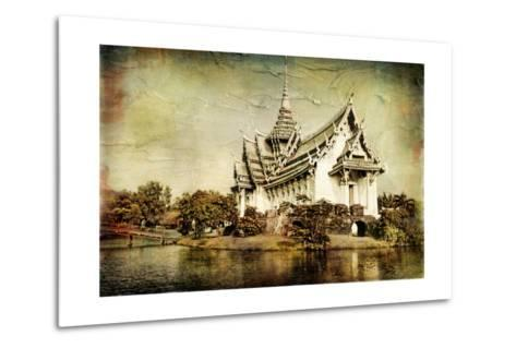 Pictorial Thailand - Artwork In Painting Style-Maugli-l-Metal Print