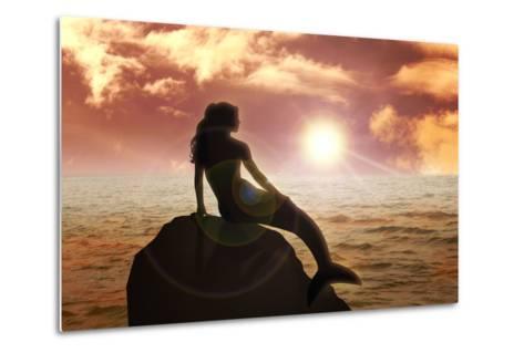 Mermaid-Rudall30-Metal Print