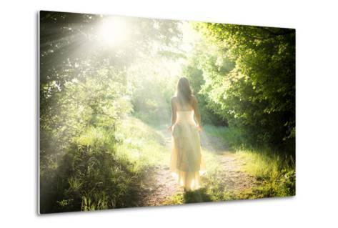 Walking Fairy-PetarPaunchev-Metal Print