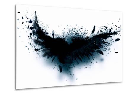 Black Wings-Sergey Nivens-Metal Print