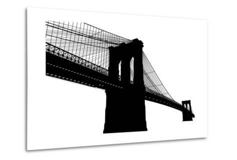 Brooklyn Bridge- vladmark-Metal Print