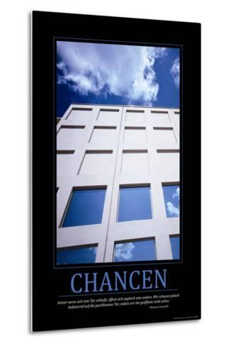 Chancen (German Translation)--Metal Print